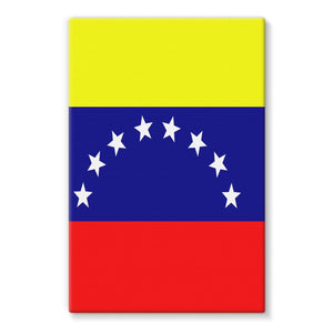 Flag Of Venezuela Stretched Eco-Canvas Wall Decor Flagdesignproducts.com