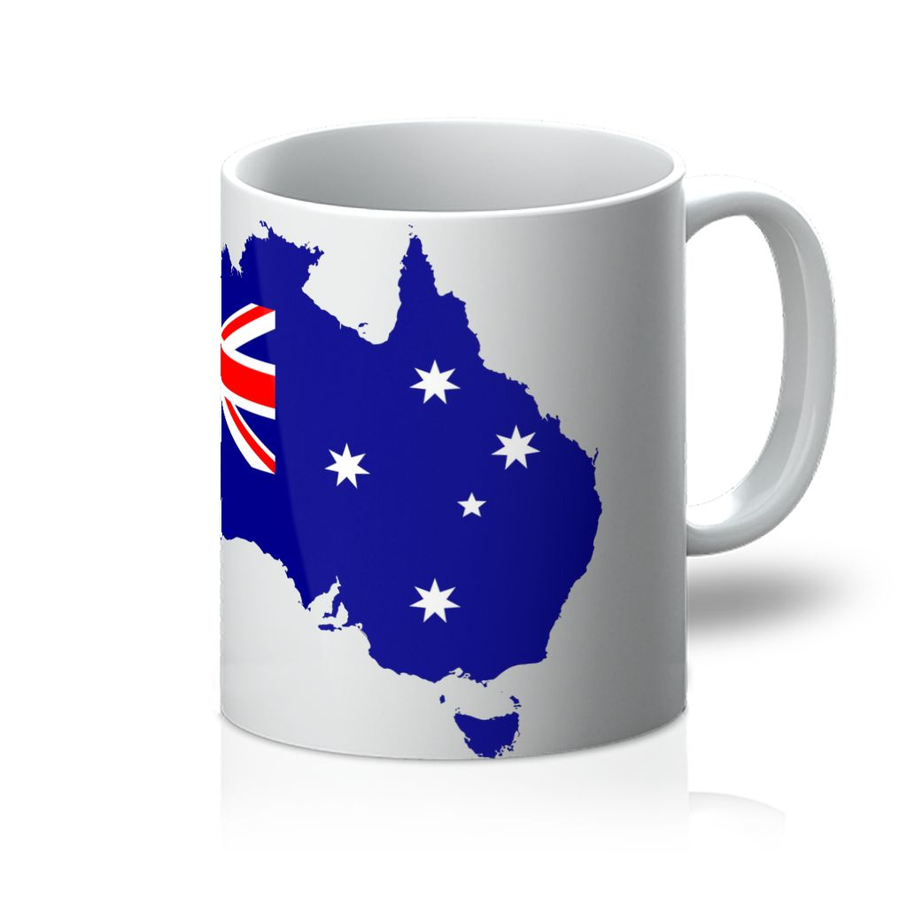 Australia Continent Flag Mug Homeware Flagdesignproducts.com