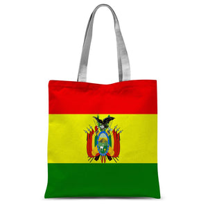 Flag Of Bolivia Sublimation Tote Bag Accessories Flagdesignproducts.com