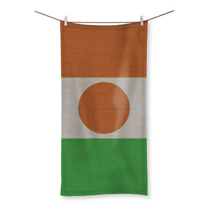 Niger Stone Wall Flag Beach Towel Homeware Flagdesignproducts.com