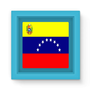 Flag Of Venezuela Magnet Frame Homeware Flagdesignproducts.com