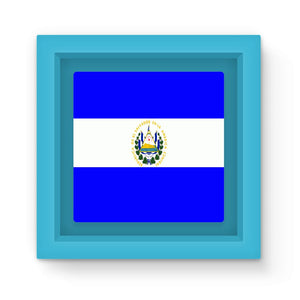 Flag Of El Salvador Magnet Frame Homeware Flagdesignproducts.com