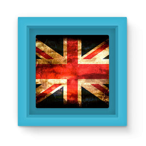 Dark Uk Flag Magnet Frame Homeware Flagdesignproducts.com