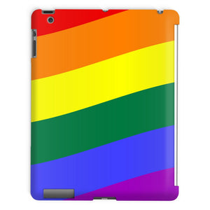 Waving Rainbow Flag Tablet Case Phone & Cases Flagdesignproducts.com