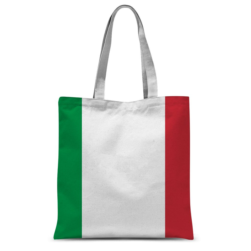 Basic Italy Flag Sublimation Tote Bag Accessories Flagdesignproducts.com