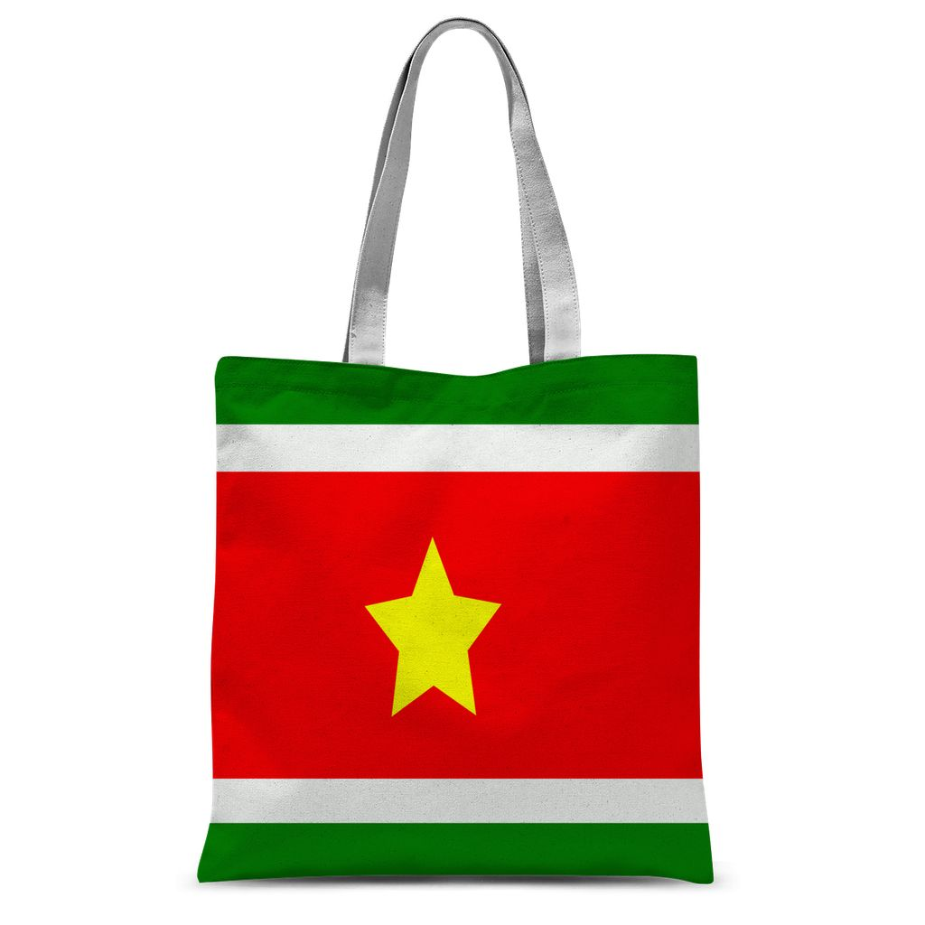 Flag Of Suriname Sublimation Tote Bag Accessories Flagdesignproducts.com
