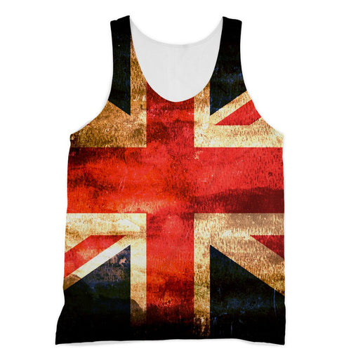 Dark Uk Flag Sublimation Vest Apparel Flagdesignproducts.com