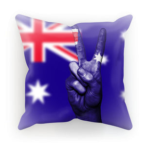 Australia Flag And Hand Cushion Homeware Flagdesignproducts.com