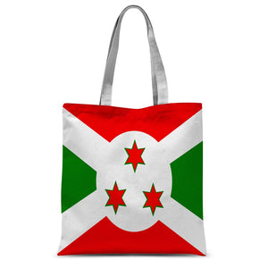 Flag Of Burundi Sublimation Tote Bag Accessories Flagdesignproducts.com