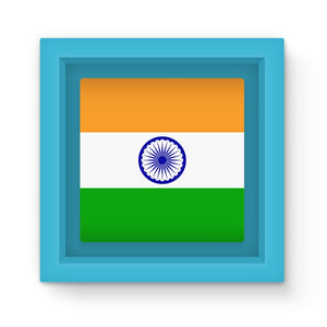 Basic India Flag Magnet Frame Homeware Flagdesignproducts.com