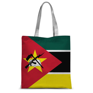 Basic Mozambique Flag Sublimation Tote Bag Accessories Flagdesignproducts.com