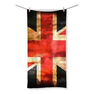 Dark Uk Flag Beach Towel Homeware Flagdesignproducts.com
