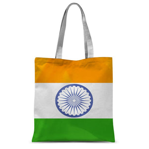 Waving Flag Of India Sublimation Tote Bag Accessories Flagdesignproducts.com