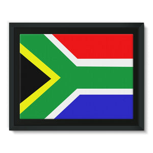 Flag Of South Africa Framed Canvas Wall Decor Flagdesignproducts.com