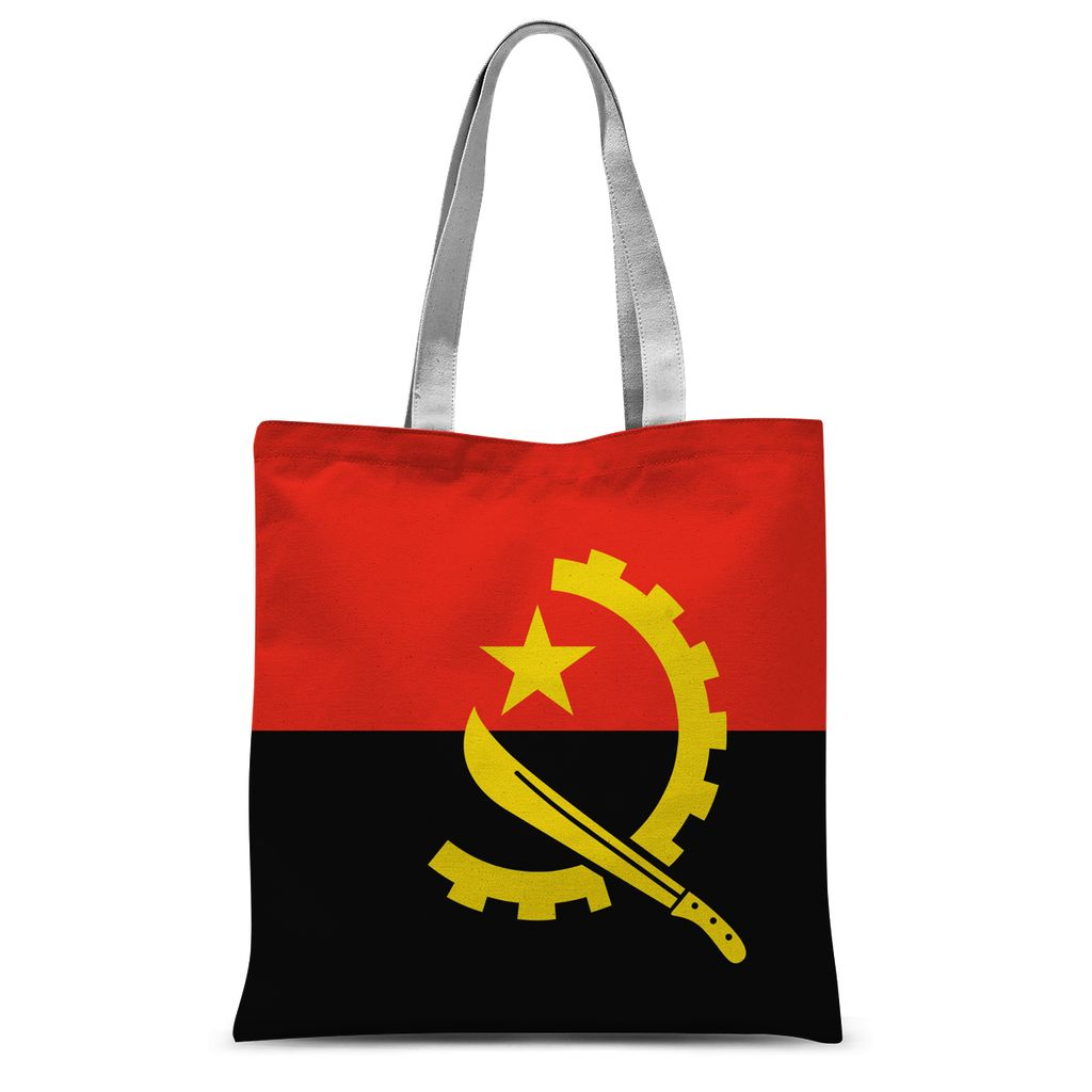 Angola Flag Sublimation Tote Bag Accessories Flagdesignproducts.com