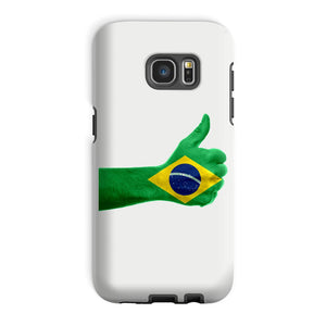 Brazil Hand Flag Phone Case & Tablet Cases Flagdesignproducts.com