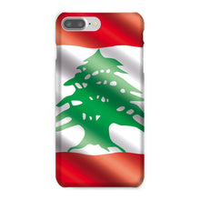 Waving Lebanon Flag Phone Case & Tablet Cases Flagdesignproducts.com