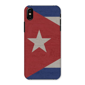 Cuba Stone Wall Flag Phone Case & Tablet Cases Flagdesignproducts.com