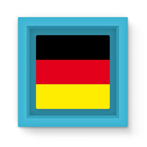 Deutsche Flagge Magnet Frame Homeware Flagdesignproducts.com