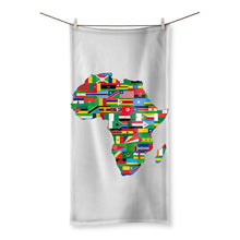 Africa Countries Flag Beach Towel Homeware Flagdesignproducts.com