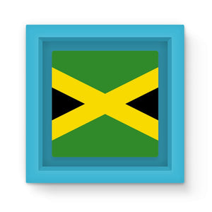 National Flag Of Jamaica Magnet Frame Homeware Flagdesignproducts.com