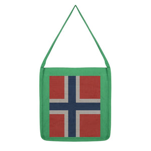 Norway Stone Wall Flag Tote Bag Accessories Flagdesignproducts.com