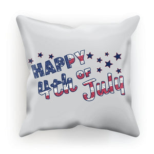 4Th July Usa Text Flag Cushion Homeware Flagdesignproducts.com