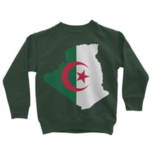 Algeria Continent Flag Kids Sweatshirt Apparel Flagdesignproducts.com