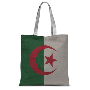 Algeria Stone Wall Flag Sublimation Tote Bag Accessories Flagdesignproducts.com