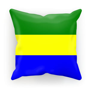 Flag Of Gabon Cushion Homeware Flagdesignproducts.com