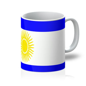 Flag Of Argentina Mug Homeware Flagdesignproducts.com