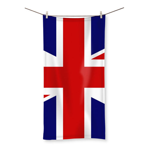 Basic United Kingdom Flag Beach Towel Homeware Flagdesignproducts.com