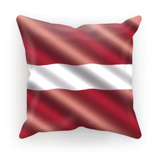 Waving Latvia Flag Cushion Homeware Flagdesignproducts.com