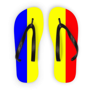Flag Of Chad Flip Flops Accessories Flagdesignproducts.com