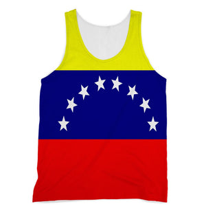 Flag Of Venezuela Sublimation Vest Apparel Flagdesignproducts.com