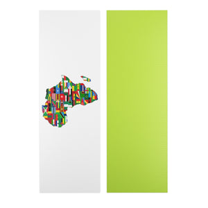 Africa Countries Flag Yoga Mat Accessories Flagdesignproducts.com