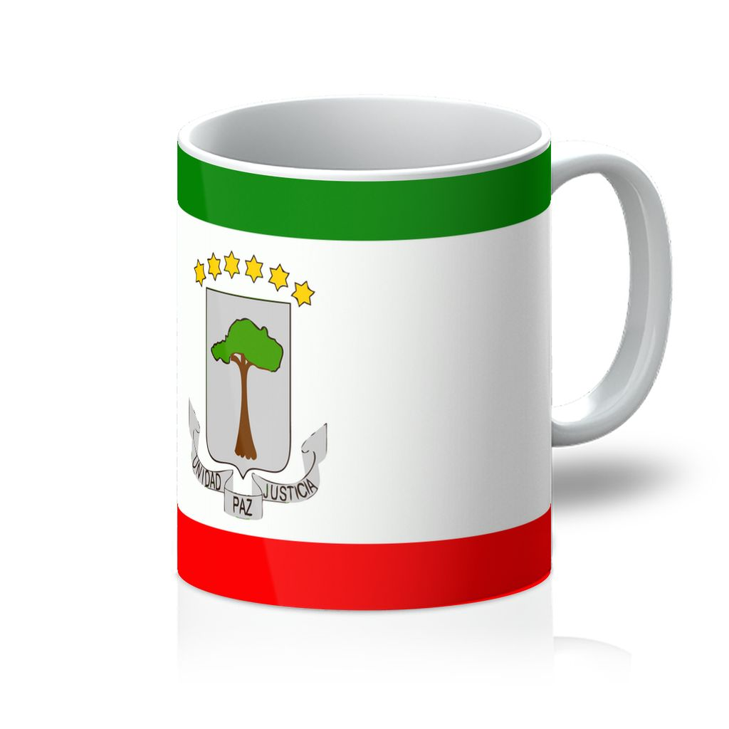 Flagof Equatorial Guinea Mug Homeware Flagdesignproducts.com