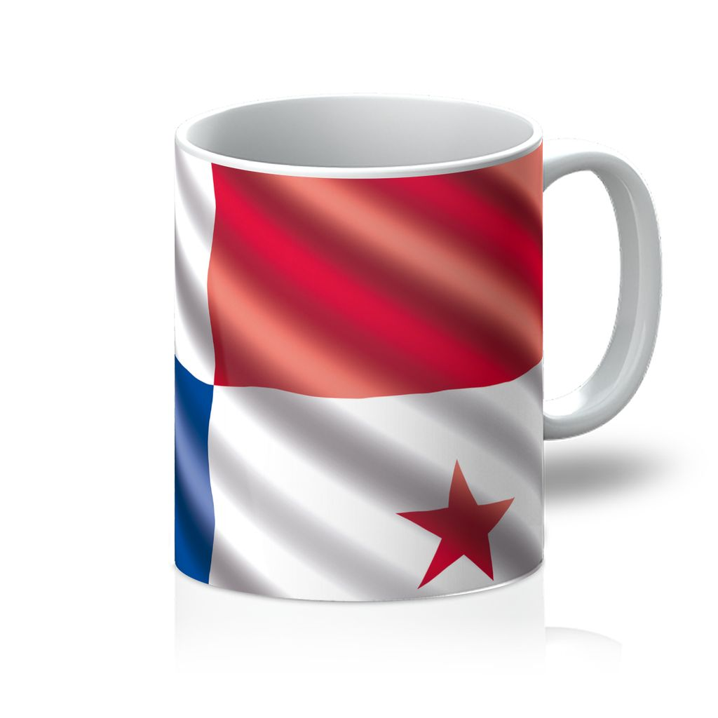 Waving Panama Flag Mug Homeware Flagdesignproducts.com