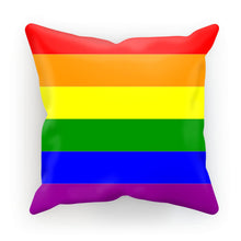 Colorful Rainbow Lgbt Flag Cushion Homeware Flagdesignproducts.com