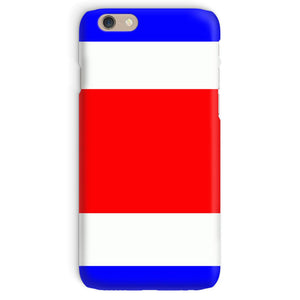 Flag Of Costa Rica Phone Case & Tablet Cases Flagdesignproducts.com