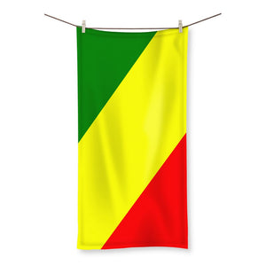 Flag Of The Rep Congo Beach Towel Homeware Flagdesignproducts.com