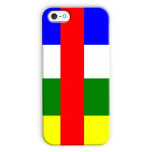 Flag Of Central African Phone Case & Tablet Cases Flagdesignproducts.com