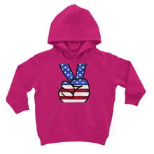 America Fingers Flag Kids Hoodie Apparel Flagdesignproducts.com