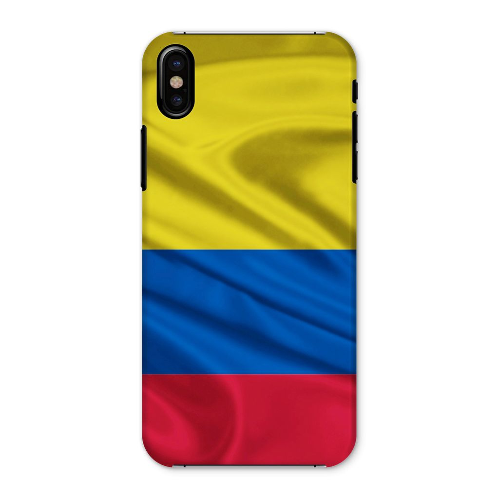 Waving Colombia Fabric Flag Phone Case & Tablet Cases Flagdesignproducts.com
