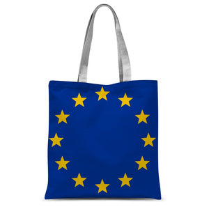 European Union Flag Sublimation Tote Bag - FlagDesignProducts