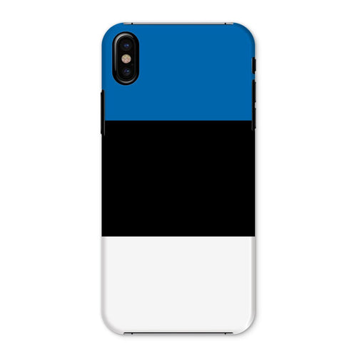 Basic Estonia Flag Phone Case & Tablet Cases Flagdesignproducts.com
