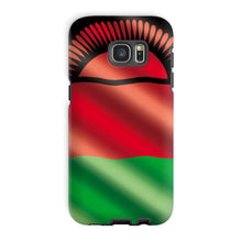 Waving Malawi Flag Phone Case & Tablet Cases Flagdesignproducts.com