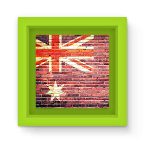 Australia Stone Brick Wall Magnet Frame Homeware Flagdesignproducts.com