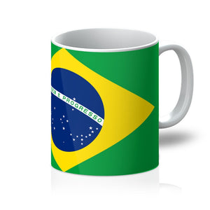 Basic Brazil Flag Mug Homeware Flagdesignproducts.com