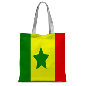 Flag Of Senegal Sublimation Tote Bag Accessories Flagdesignproducts.com